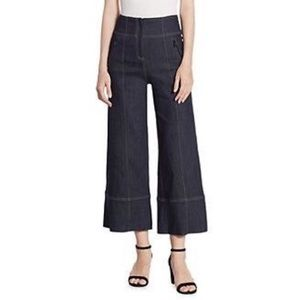 Cinq a Sept Marla Wide Leg Cropped Jeans Pants